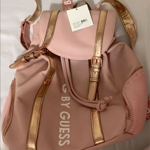 NWT, Brand new G by Guess pink backpack